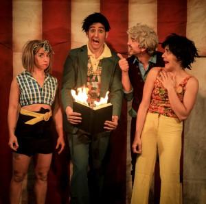 Circo Alboroto en Hoy Función!_teatro el Cubo 1_ foto Paula Schrott