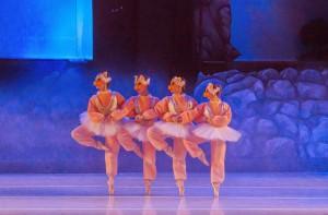 El Lago de los Cisnes y las princesas encantadas en Ciudad Cultural Konex