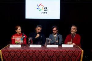 Hélène Kelmachter, Marcelo Allasino, Enrique Avogadro y José Ramayo.
