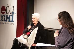 Laura Devetach en el 3er Festival Literario Gustavo Roldán en el ECuNHi