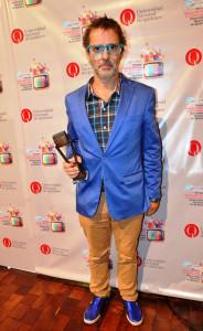 Mex Urtizberea fue uno de los homenajeados por Magazine For Fai
